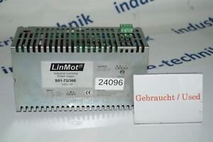 Linmot S01 72 300 Power Supply