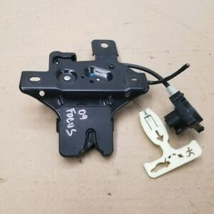 Trunk Latch Ford Focus 2008 2009 Lid Actuator Release Oem