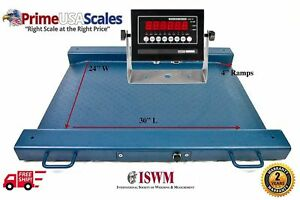 1 000 Lb X 0 2 Lb Optima Scale Op 917 Lightweight Portable Drum Scale Ntep