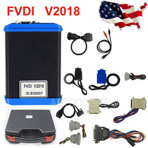 Fvdi 2018 Abrites Scanner Key Pro grammer Car Diagnostic Tool Of Vvdi2 Universal