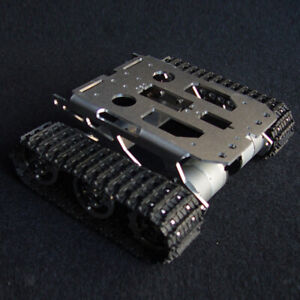 Metal Assemble Rc Robot Tracked Smart Tank Chassis Car Kit For Arduino Diy