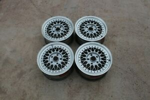 Original Forged Bbs Rs Faces 15 Inch Rs156 Flatback 3piece Wheel Parts Futura