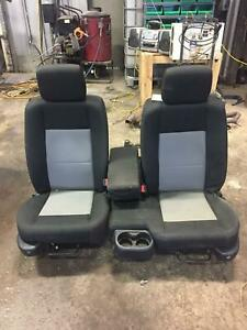 2011 Ford Ranger Front Seat Bench Super Cab 60 40 Manual Cloth