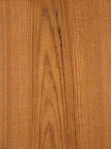 Teak Wood Veneer Plain Sliced Paper Backer Backing 24 X 81 Sheet
