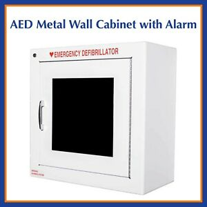 Zoll Aed Metal Wall Cabinet With Alarm