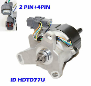 Ignition Distributor For 97 01 Honda Prelude 2 2l H22a W External Coil Only