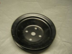 Nos Gm Chevy Water Pump Pulley Vintage 2032507 454 1 Groove V belt