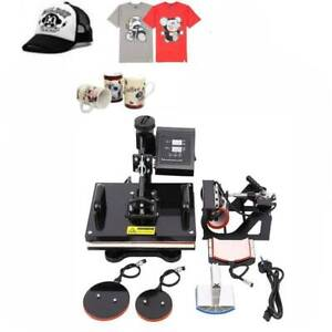 12x15 10in1 Combo T shirt Heat Press Transfer Machine Sublimation Swing away