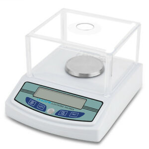 Us Lab Analytical Digital Balance 300g X0 001g Scale Jewelry Precision Weighing