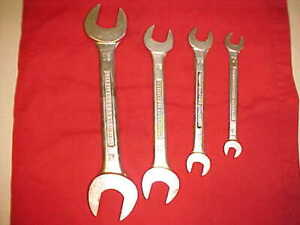 Mg Whitworth B S Open End Wrenches