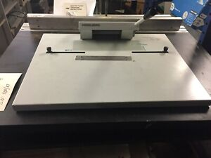 Heidelberg Nela A1 0909016 Bench Top 220mm Plate Punch