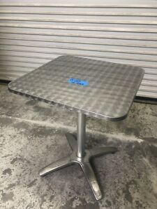 24 X 24 Dining Table Top And Base Indoor Outdoor 2 Top Stainless Steel 1589
