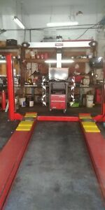 Wheel Alignment Machine John Bean V2200 Snap On W Lift And Plates Included