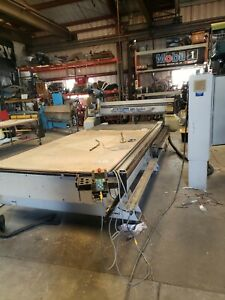 Multicam Mg Series Cnc Router 5 X 12 Table