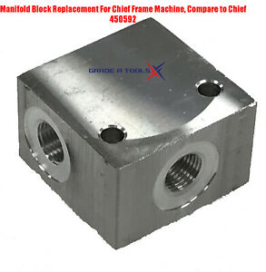Chief Frame Machine Manifold Block 450592