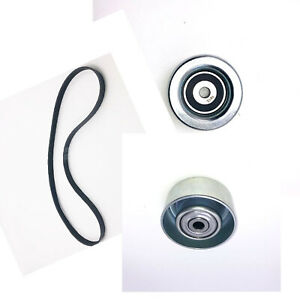 New Serpentine Drive Belt And Idler Pulley Kit Fits 2006 2012 Lexus Is250 Is350
