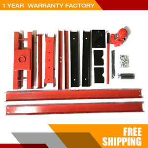 12 Ton Shop Press Floor H Frame Press Plates Hydraulic Jack Stand Equipment New