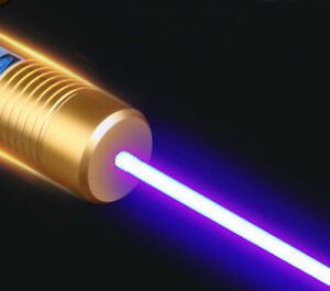 Powerful 1 w Blue Laser Pointer High Power 450nm Lazer Burning Paper Dry Wood