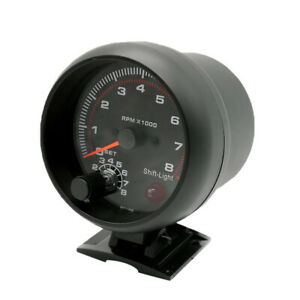 3 75 95mm Universal 0 8000 Rpm Gauge With Inter Shift Light For Car