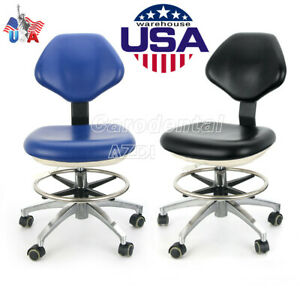 360 Rotation Adjustable Mobile Chair Dentist Chair Assistant Stools Pu Leather