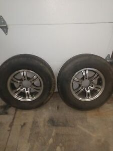 2 15 Inch Aluminum Camper Wheels And Tires