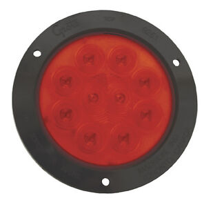 Grote 53292 Supernova 4 Led Stop Turn Tail Lights Red