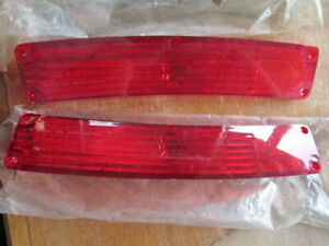 1967 Amc Rambler Rebel Station Wagon Nos Tail Light Lenses
