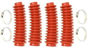 Aftermarket Red Shock Absorber Boot 4 Pack Cover Jsp Brand Replaces Rou 87150
