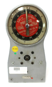Vintage Snap On Tools Torqometer Ttur 25 3 8 Newton Meter Lb In