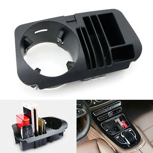 Exact Fit Cup Holder Fit Organizer Tray Box For Mercedes W205 C X205 Glc W213 E