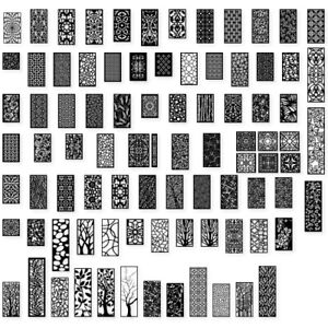 500 Items Dxf Of Plasma Router Laser Cut cnc Vector Dxf Cdr Ai Pdf Art File
