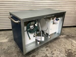 Water Filling Cart Station Table Fresh Tanks Pumps Carriage Works Msu 1604