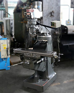 Webb 9 X 42 Variable Speed Vertical Milling Machine 2vs