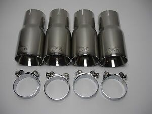 Bmw M1 M2 M3 M4 M5 M6 T304ss Exhaust Tip S 4 1 2 3 4 5 6 7 8 Series Bmw
