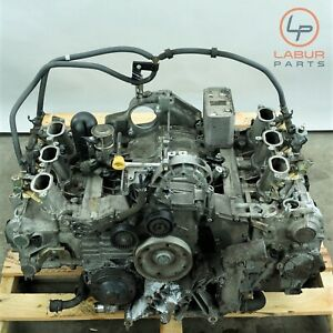 En49 Porsche 996 02 05 911 Carrera 3 6l Engine Motor Block M96 03 M9603