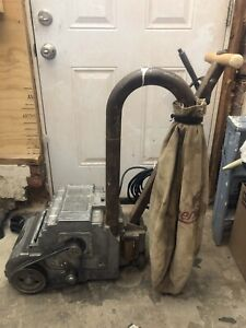 The Little American Floor Surfacing Machine 1hp 3450rpm used