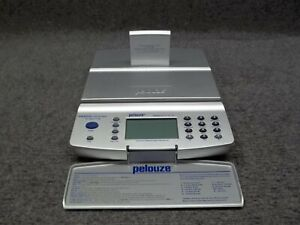 Pelouze Ps20dl 20lb Capacity Wired Lan Internet Ready Digital Postage Scale