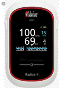 New Masimo Radius 7 Pulse Oximeter Battery Charger Battery Included 1 895
