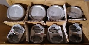 Federal Mogul Engine Pistons 030 8 Cyl Set Of 8 Part 400p