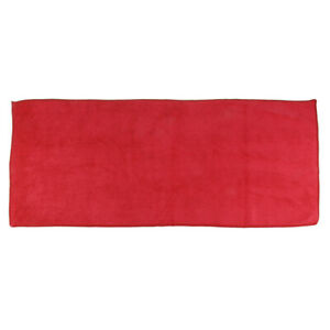 1pcs Red Soft Absorbent Wash Cloth Car Auto Care Microfiber Cleaning Towel