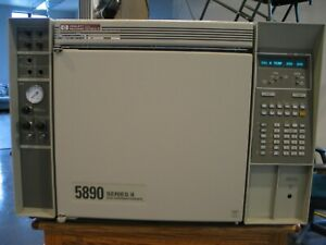 Hp Gas Chromatograph 5890 Series Ii Fid Detector hpib Equipped