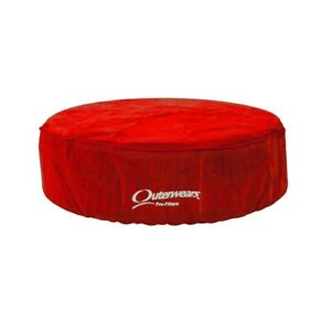 Outerwears Red Air Cleaner Pre Filter For X Stream 14 X 4 Element