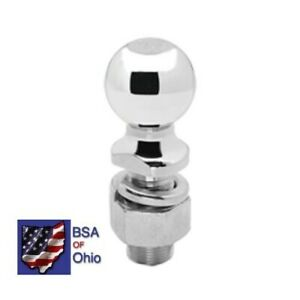 Draw Tite Trailer Hitch Ball 2 With 1 Shank 63845