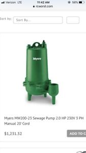 Myers Submersible Pump Mw 200 23