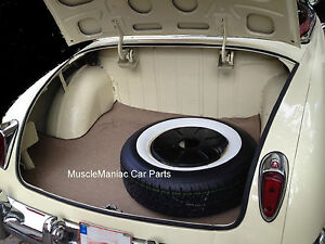 1948 1951 Hudson Convertible Trunk Mat Tantweed Mat On Tar felt 48 49 50 51