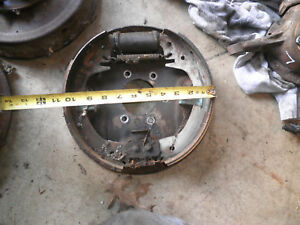 Willys Jeep Overland L226 4x4 Right Front Brake Backing Plate 56