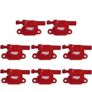 Msd 82658 Blaster Ls Coil For 05 13 Gm Ls Engines Single 8 pack