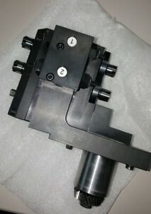 Star Cnc Sv20r Ecas Front Back Counter Face Mill Unit New Sv12 Sv20r Ecas20