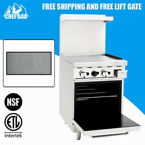 Etl Commercial Kitchen 24 Gas Range With Oven