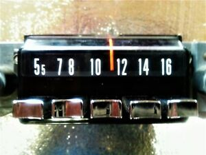 Amx 1968 69 Tested Working Am Radio Nice